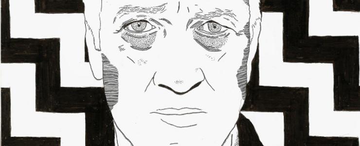 Ilustraciones estilo cómic inspirados en David Lynch y Twin Peaks