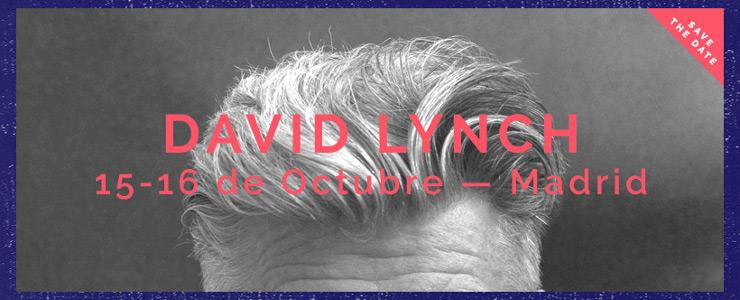David Lynch visitará Madrid el próximo Octubre