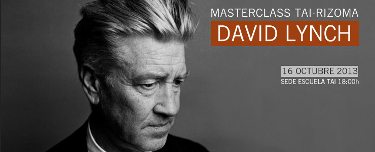 Would you like to go to a masterclass with David Lynch in Madrid?