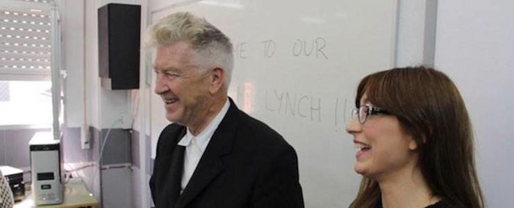 The teacher that I dream of David Lynch, Cinemania article
