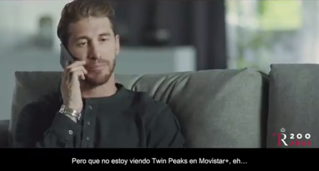 Rafa Nadal y Sergio Ramos protagonizan un anuncio de Twin Peaks