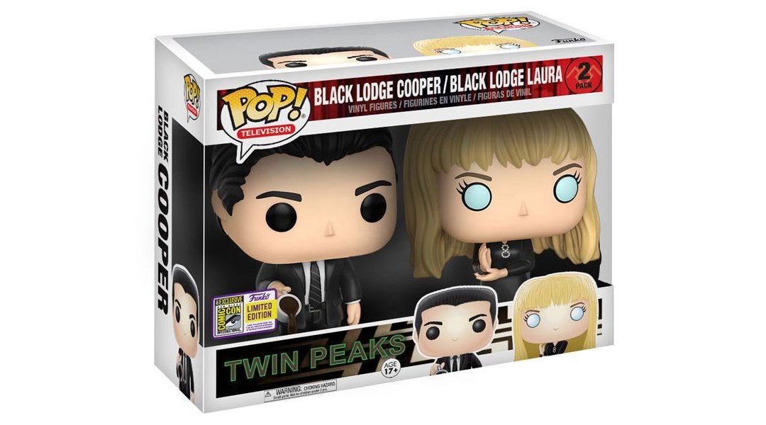 Muñecos exclusivos de Cooper y Laura en la Logia Negra