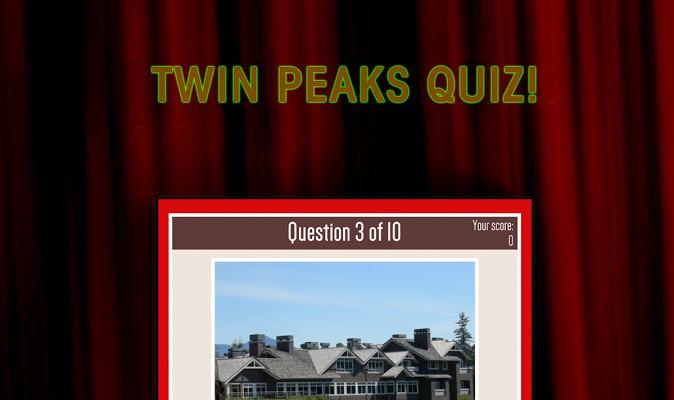 Demuestra que eres un experto de Twin Peaks con la app Let's Rock! – Twin Peaks-Quiz