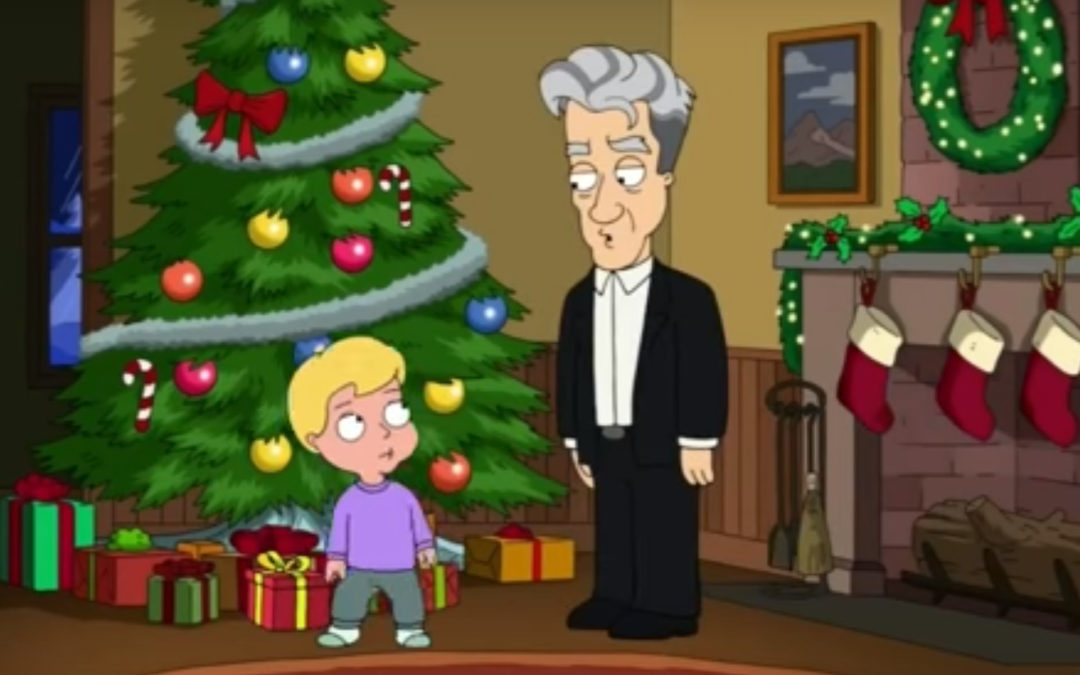 David Lynch cameo on Family Guy