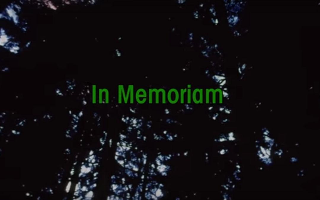 Twin Peaks Memorial, homenaje a los fallecidos