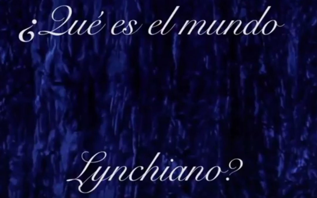 Video: What it is Lynchian world?