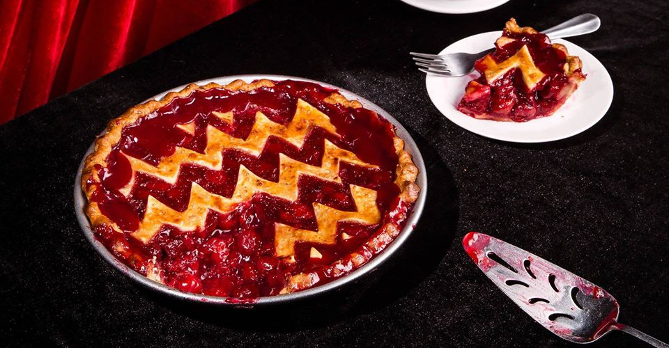 Halloween party and cherry pie contest in Barcelona