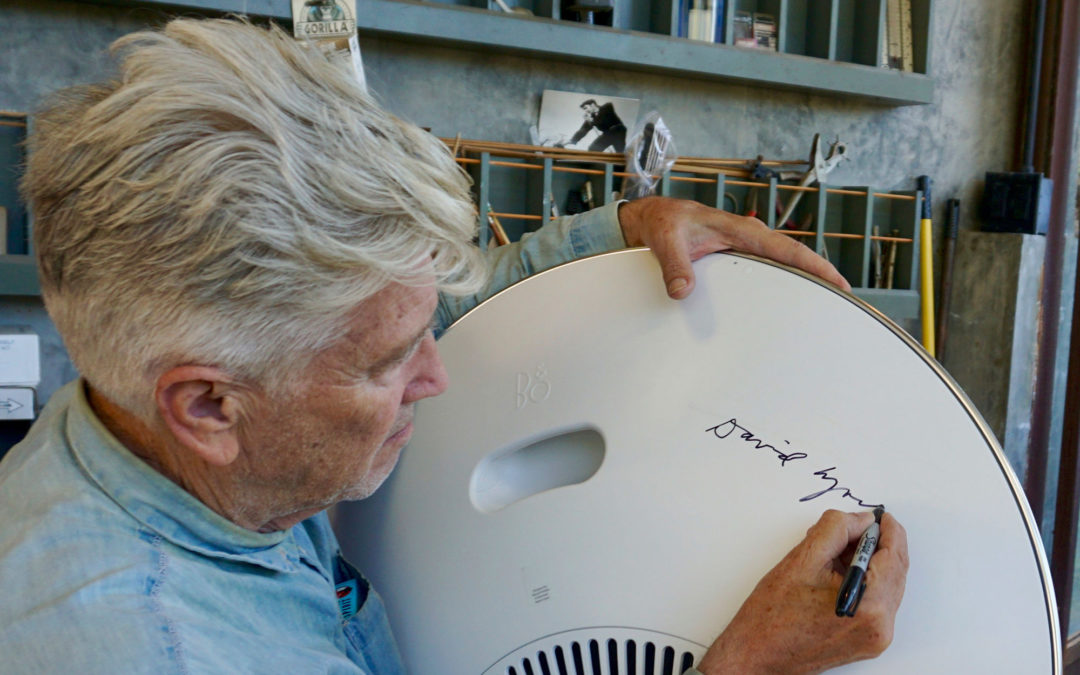 David Lynch designs a speaker Bang & Olufsen