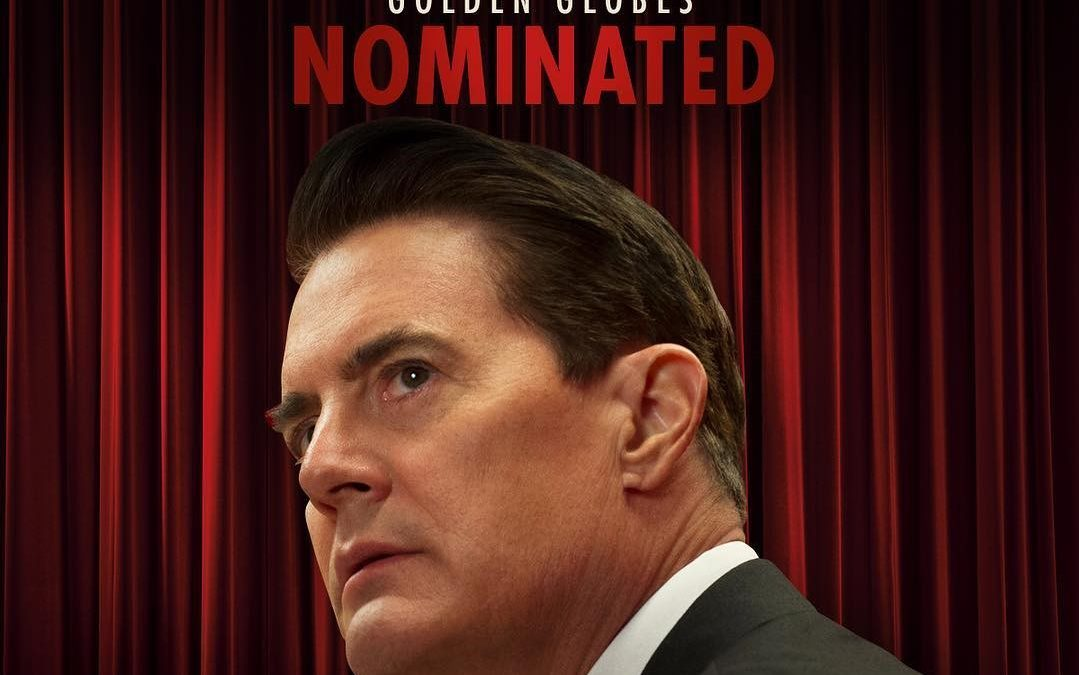 Kyle Maclachlan nominated for a Golden Globe for Twin Peaks
